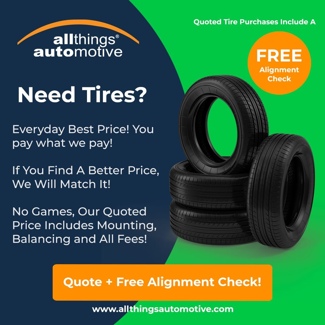 Free Alignment Check With Tire Purchase